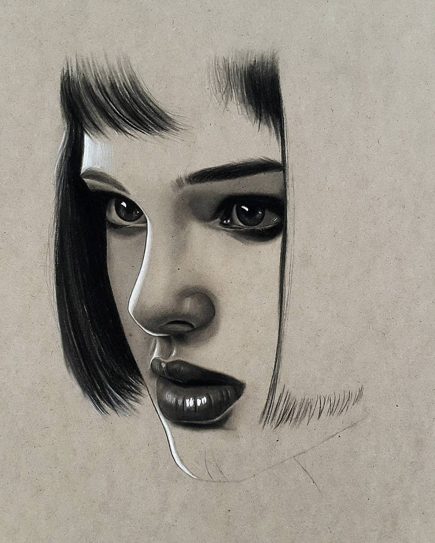 13-Husam-Waleed-Minimalist-Realistic-and-Stylized-Charcoal-Portraits-www-designstack-co