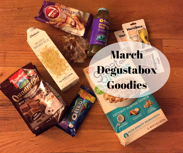 Degustabox March Foodie Treats