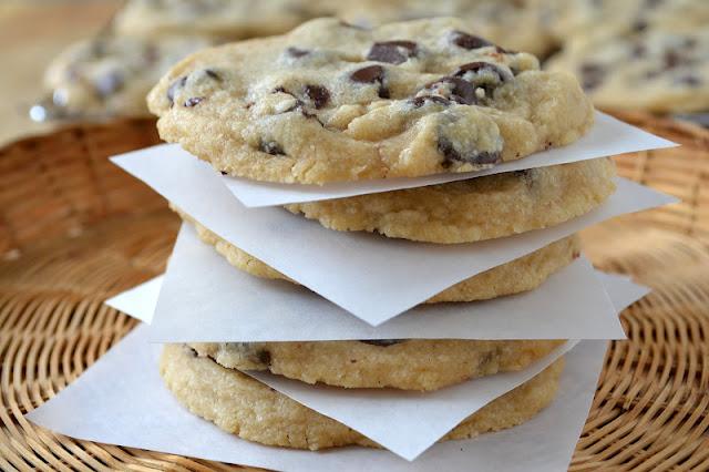 coffee chocolate chip cookies 3