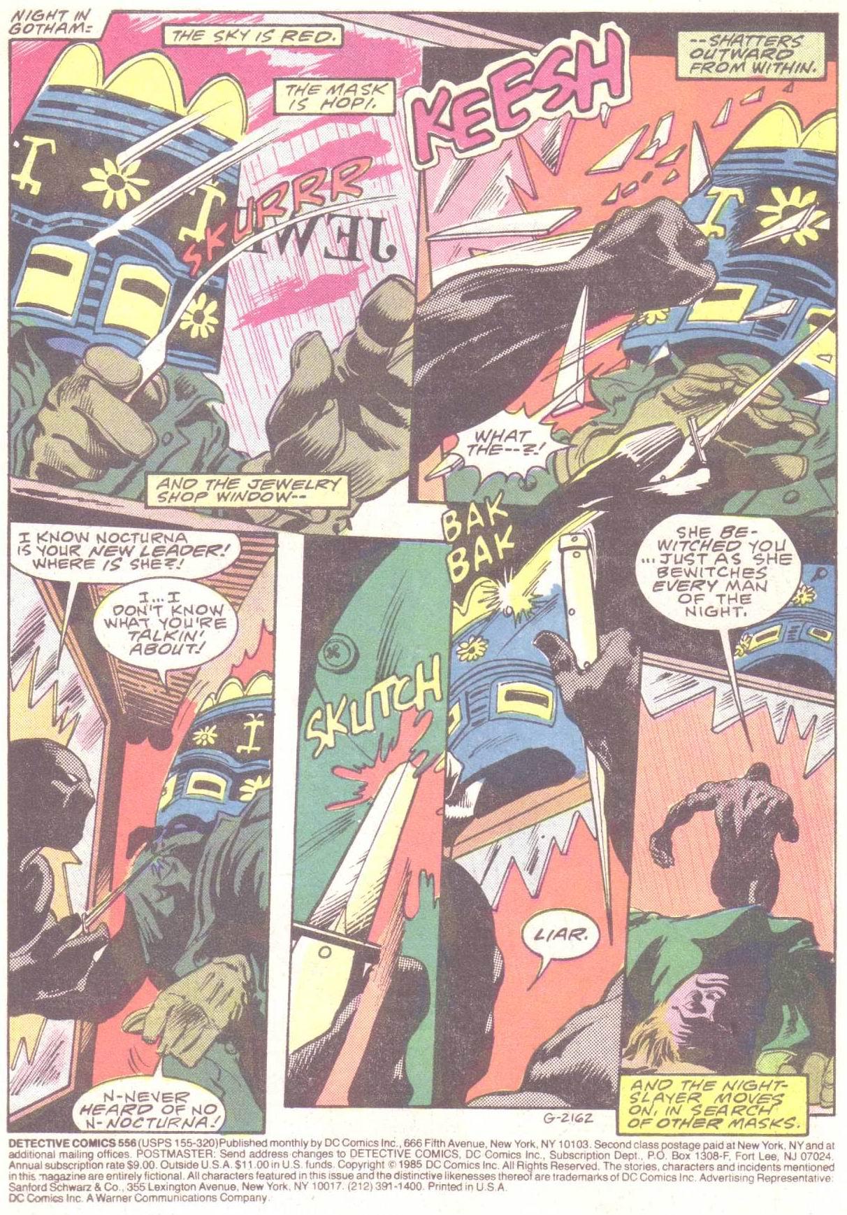 Detective Comics (1937) 556 Page 2