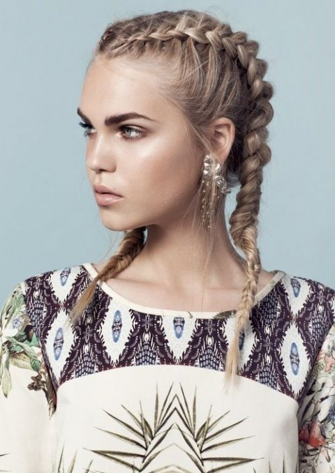 HAIR TRENDS: DOUBLE DUTCH BRAID Miss Rich - Cornrows Hairstyles
