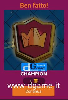 Soluzioni Quiz Clash Royale card livello 32
