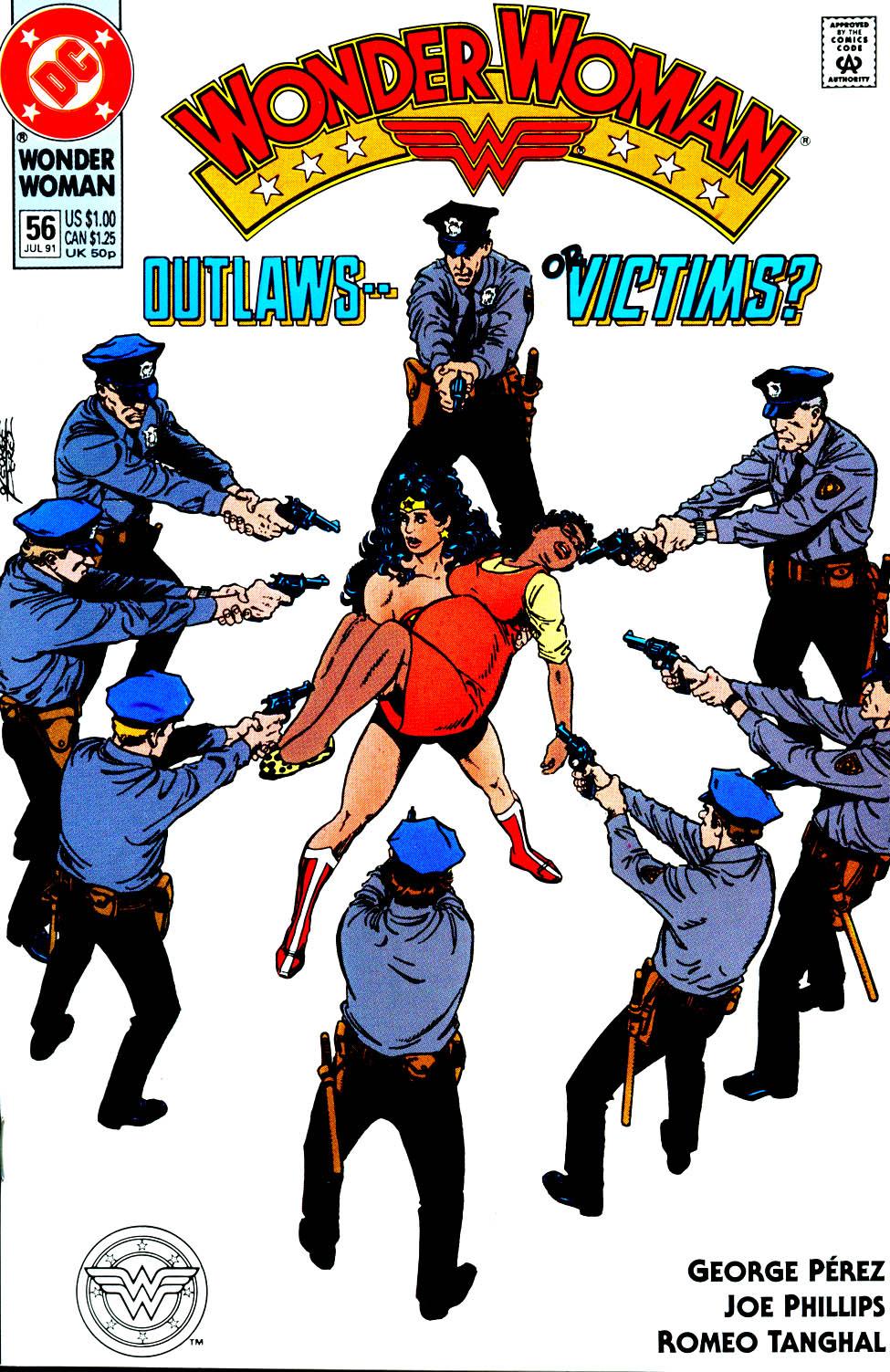 Read online Wonder Woman (1987) comic -  Issue #56 - 2