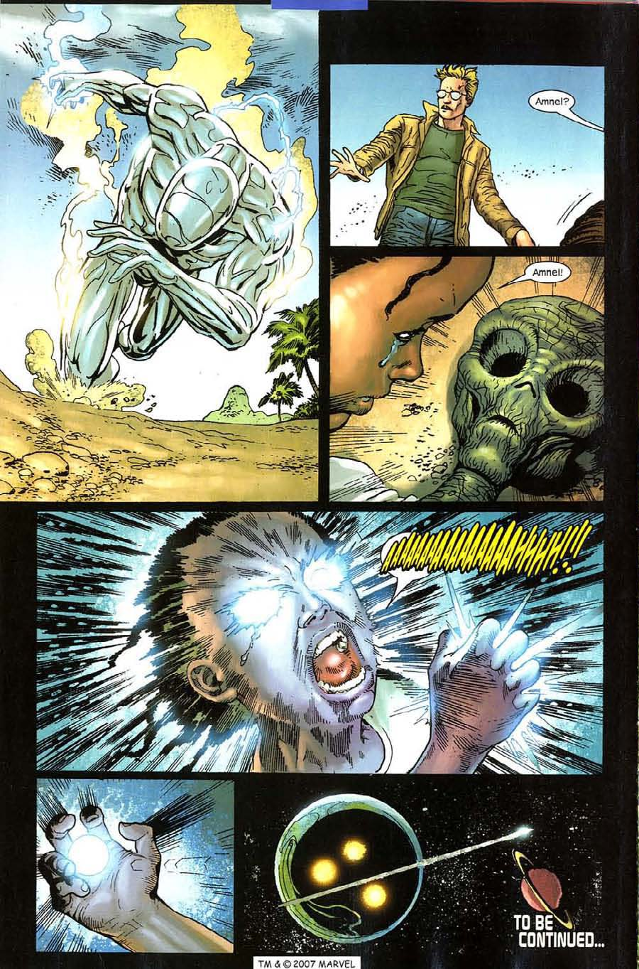 Read online Silver Surfer (2003) comic -  Issue #11 - 38