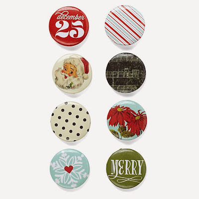 My Crush™ Holiday Happenings Badge Buttons
