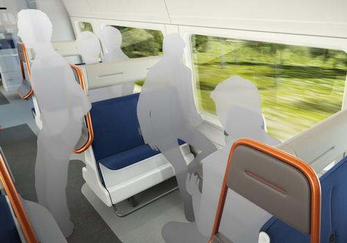 Tinuku PriestmanGoode design Island Bay and Horizon seats to increase capacity trains