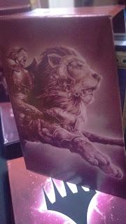 Krond the Dawn-Clad Cover Art for Savage Auras Deck