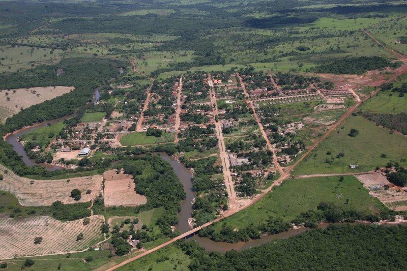 #Araguainha (Mato Grosso), História e Geografia de Araguainha