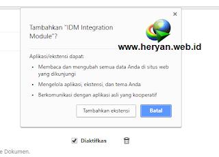 Cara Memperbaiki Ekstensi IDM di Google Chrome dan Browser Lainnya