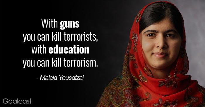 Menjadi Malala Yousfazai