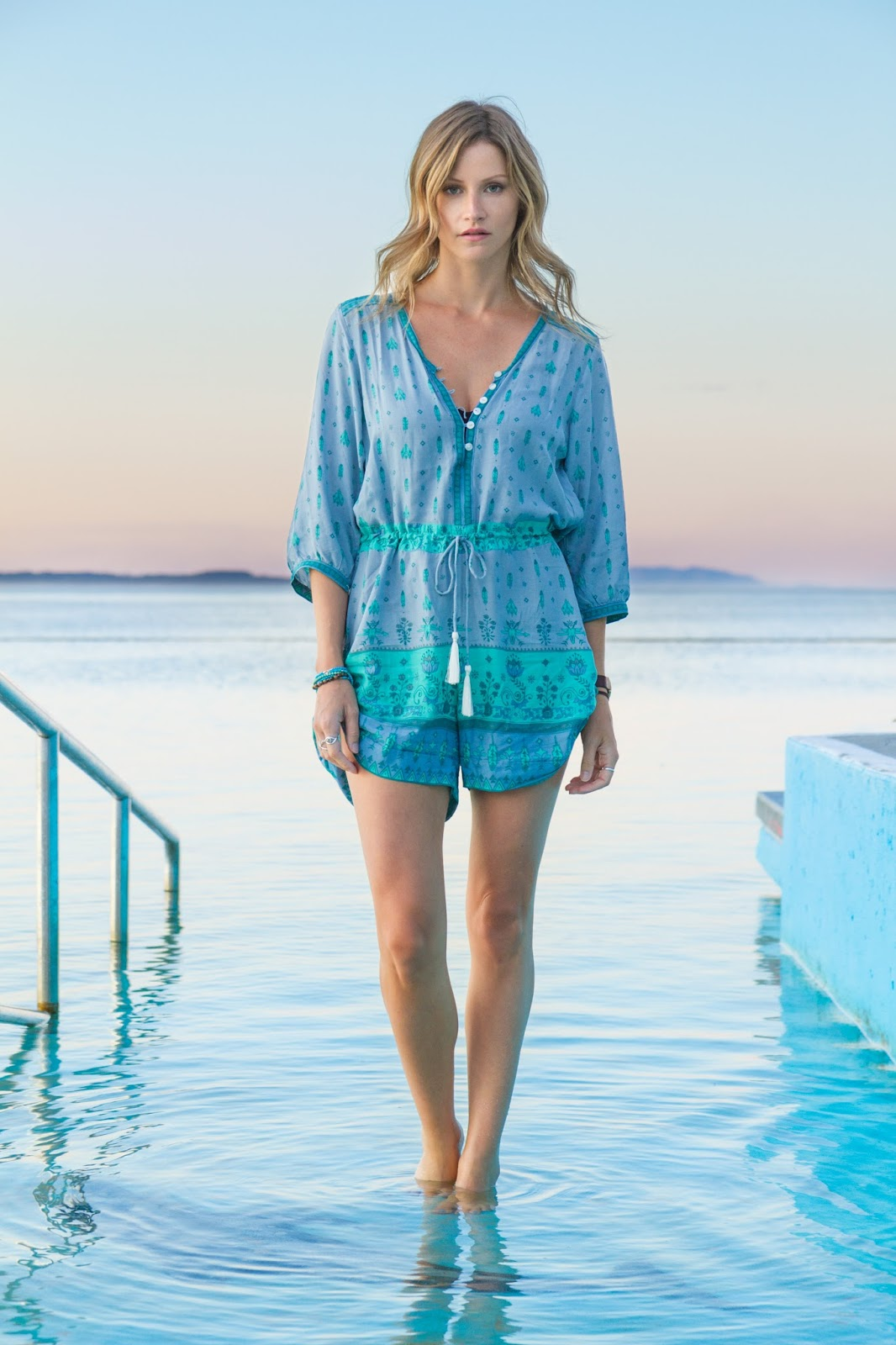 Fashion Blogger | Alison Hutchinson | Spell & Gypsy Collective Romper | Forster Sunset