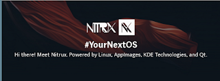 Nitrux - The first all-containerized KDE distribution
