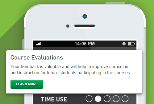 Course evaluations online