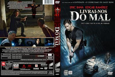 Filme Livrai-nos do Mal DVD Capa