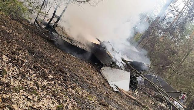 Chiến đấu Cơ MiG-29 của Ba Lan gặp nạn ngay sau khi cất cánh