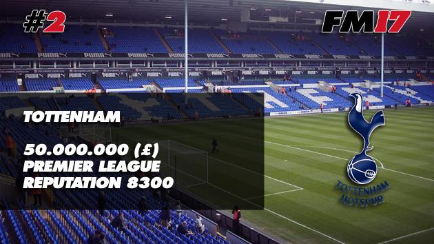 Football Manager 2017 Tottenham Transfer Budget