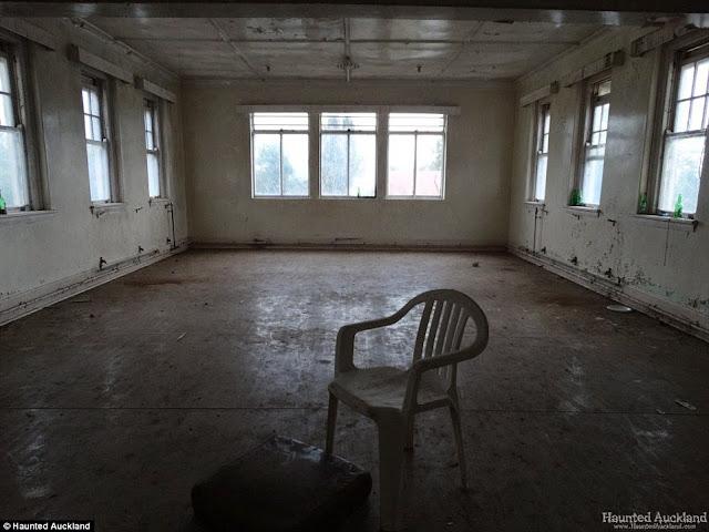 Ukleta napuštena psihijatrijska bolnica.