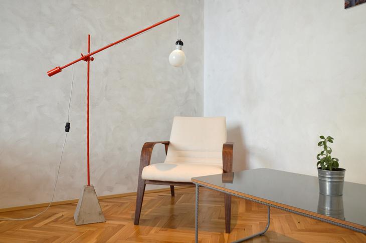 český design lampa