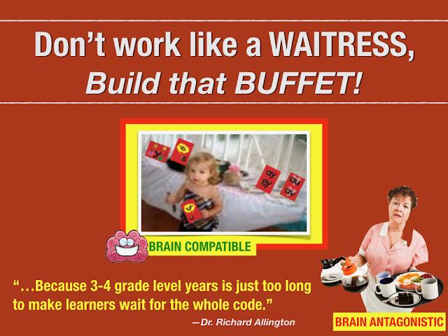 "Secret Stories® Phonics — ""Don't be a ""phonics-waitress"".....Build a BUFFET!!"""
