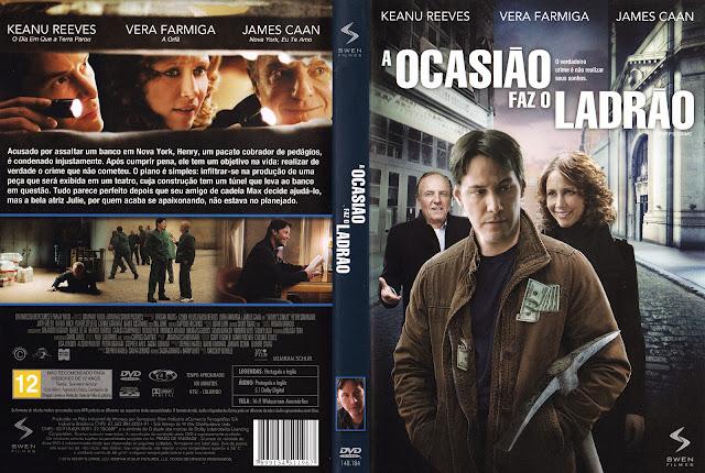 Capa DVD A Ocasião Faz o Ladrão
