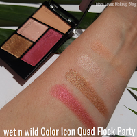 Flock party swatch and review