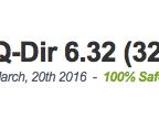 Q-Dir 6.32 (32-bit) Latest 2017 Free Download