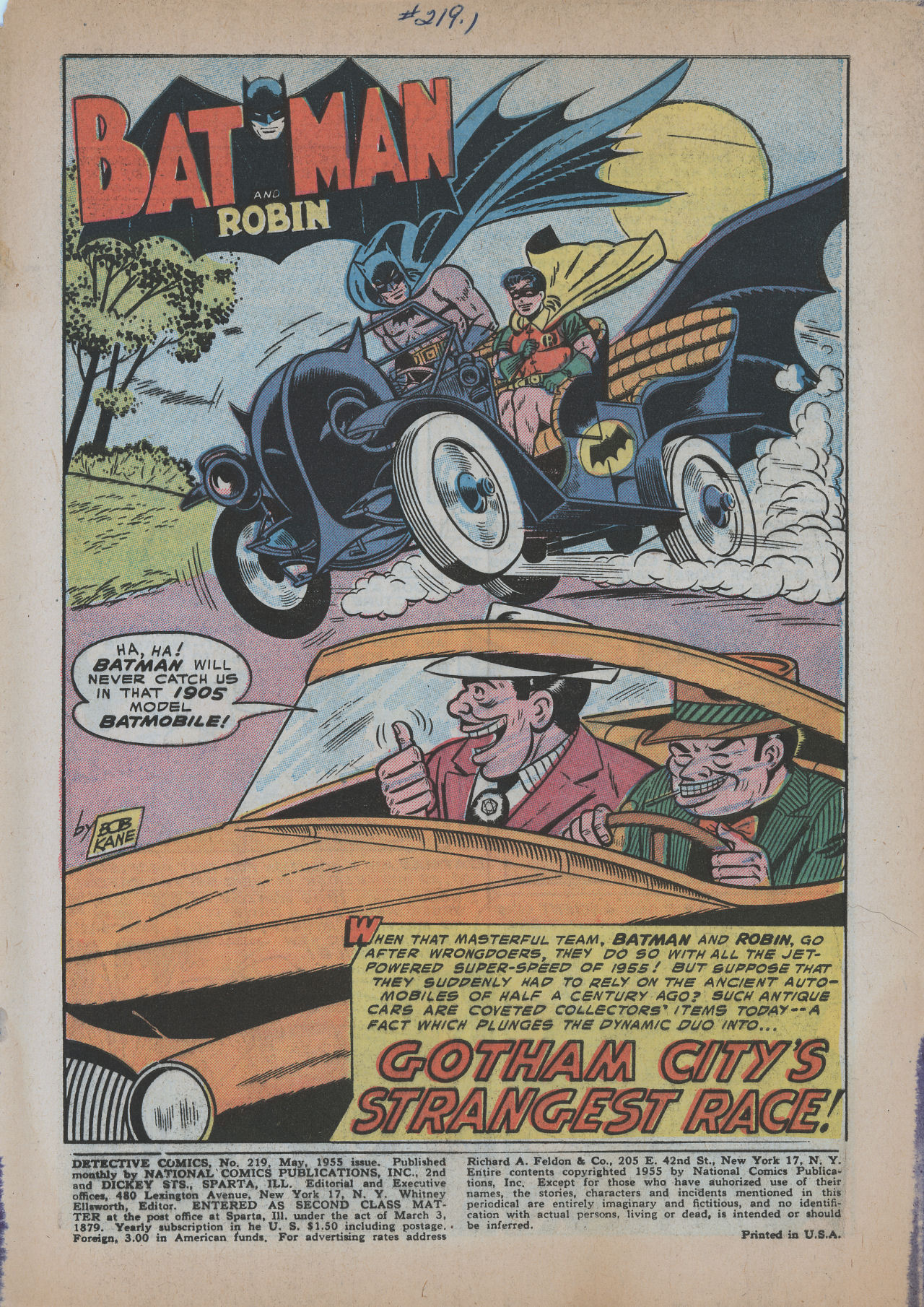 Read online Detective Comics (1937) comic -  Issue #219 - 3
