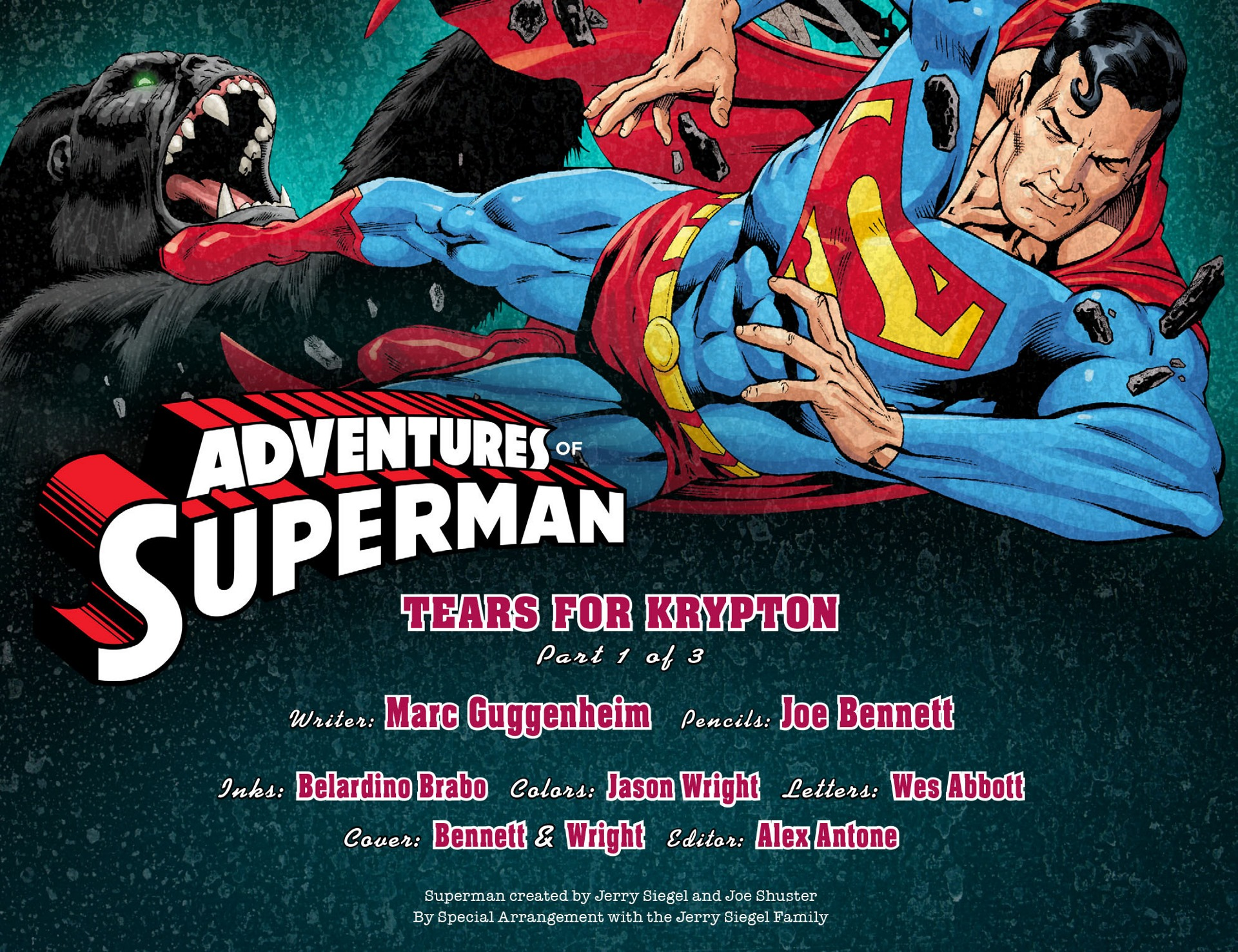 Read online Adventures of Superman [I] comic -  Issue #22 - 2