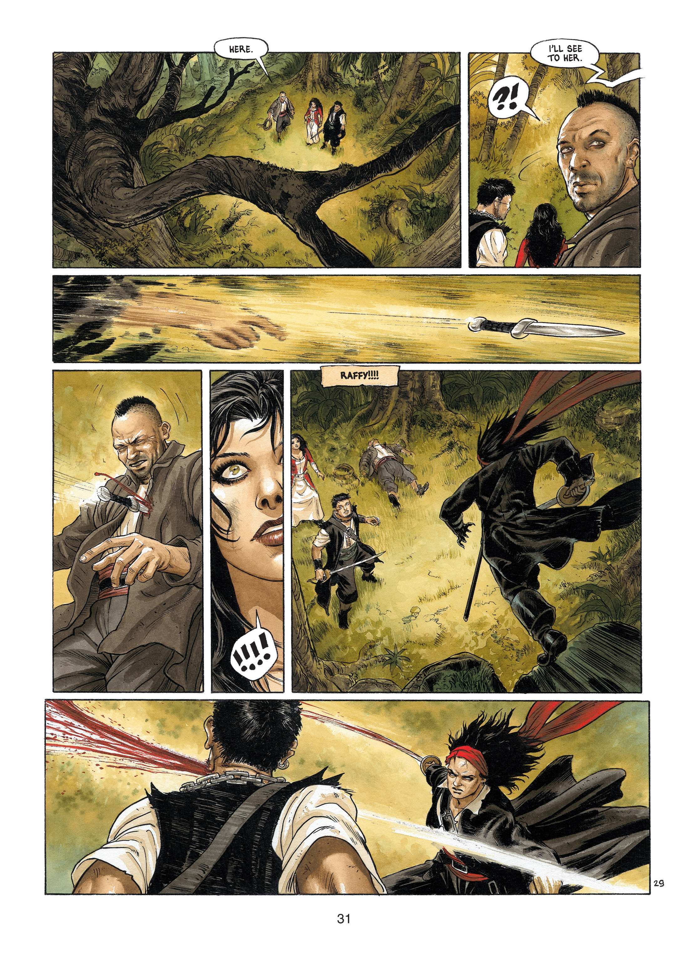 Read online Barracuda comic -  Issue #4 - 32
