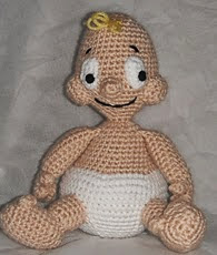 http://www.ravelry.com/patterns/library/free-pattern--baby-a-new-a-crochet-pattern