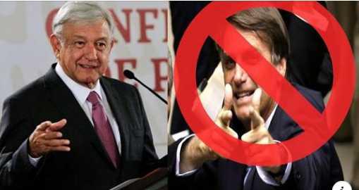 Solidario con Cuba y Venezuela: AMLO rechaza invitación a la toma del fascista Bolsonaro en Brasil.