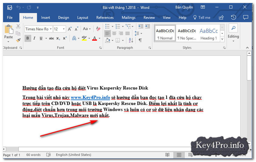 Hướng dẫn tắt tính năng tự động kiểm tra chính tả và ngữ pháp trong Office 2016