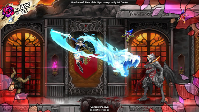 Bloodstained: Ritual Of The Night se lanzará en 2018