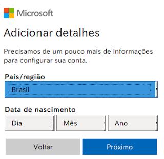 Outlook e-mail gratuito como criar