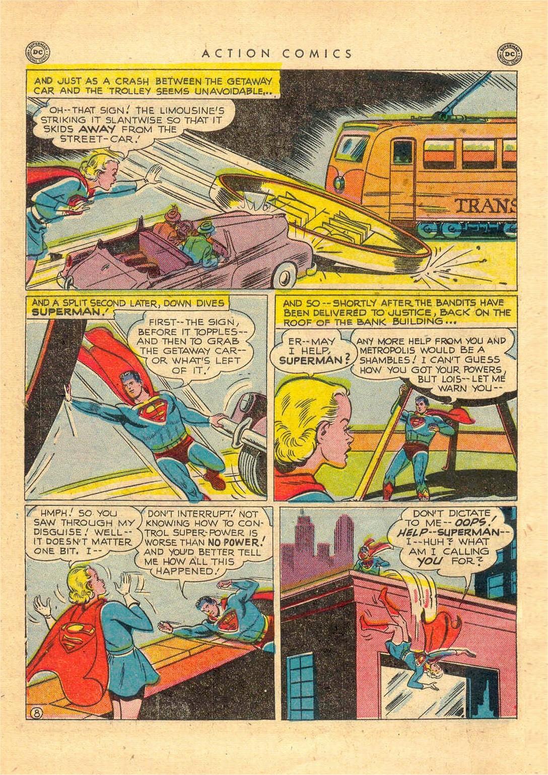 Action Comics (1938) 156 Page 8