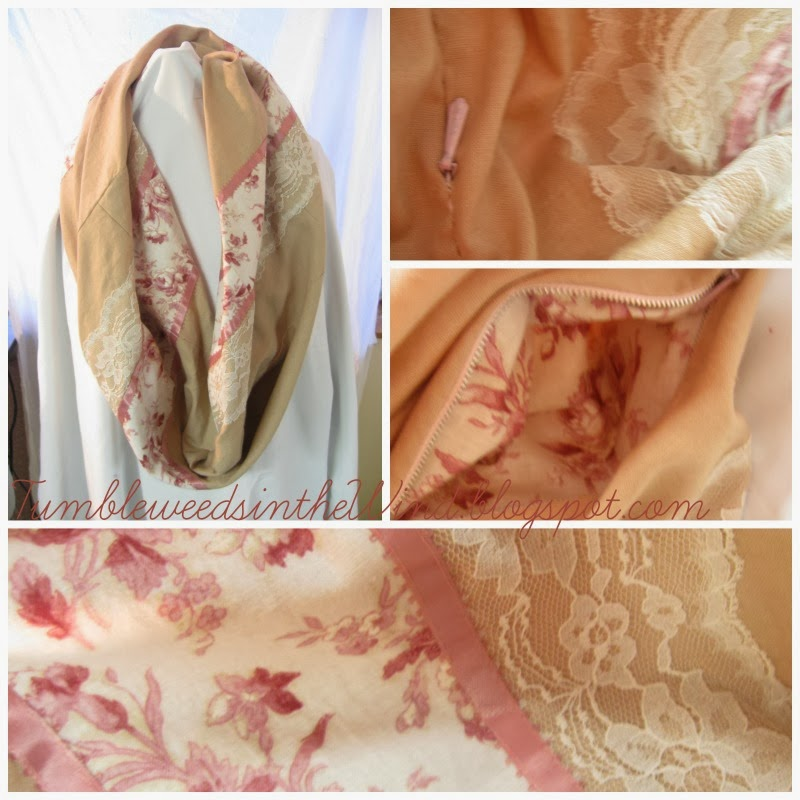 Sew Infinity Scarf Multiple Fabrics