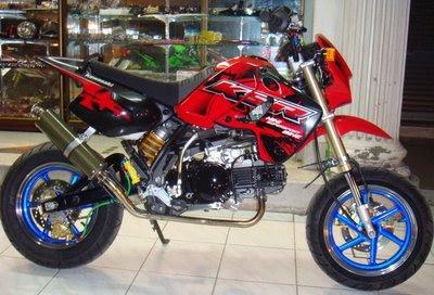 Modifikasi Kawasaki Ksr