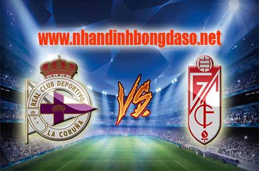 Nhận định bóng đá Deportivo La Coruna vs Granada CF, 01h30 ngày 06/04