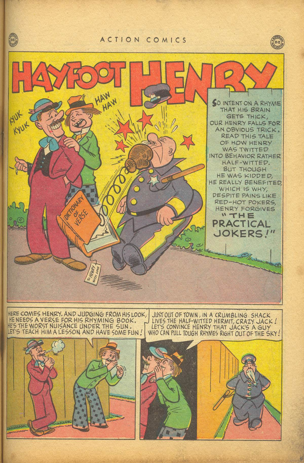 Read online Action Comics (1938) comic -  Issue #112 - 35