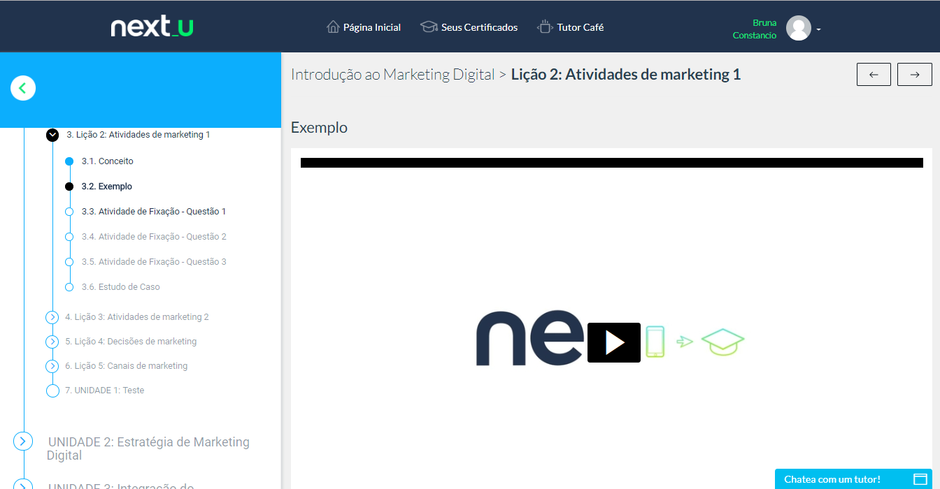 Marketing digital na Next U - O que estou achando do curso?