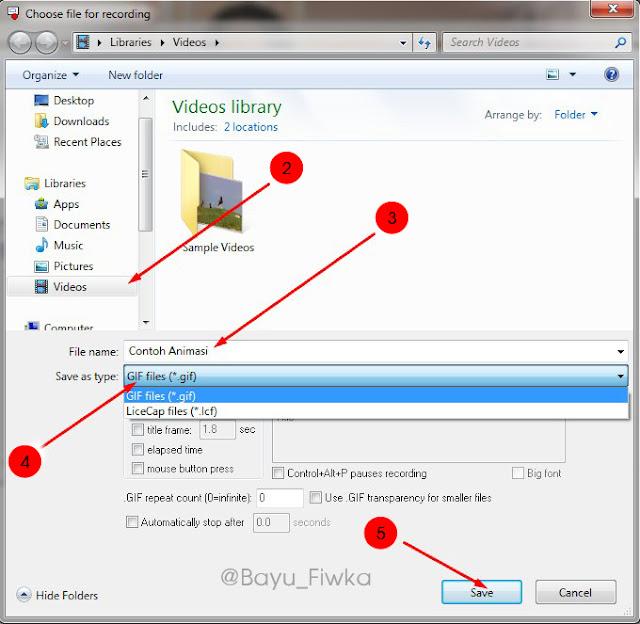 cara merekam desktop jadi animasi