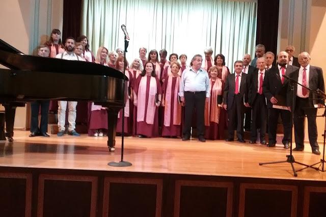 """Η Χορωδία του Συλλόγου """"ΤΕΛΕΣΙΛΛΑ"""" τραγούδησε στον «Παρνασσό»"""