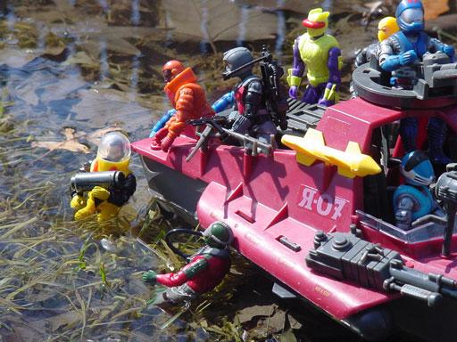 1988 Secto Viper, BUGG, Bronze Bombers Firebomb, Olmec Toys, 1985 Moray, Hydrofoil, 2000 Undertow, 1990 Decimator, 1992 Eel, 1985