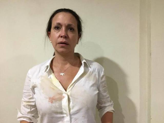 Vente Venezuela sobre atentado a María Corina Machado en Upata