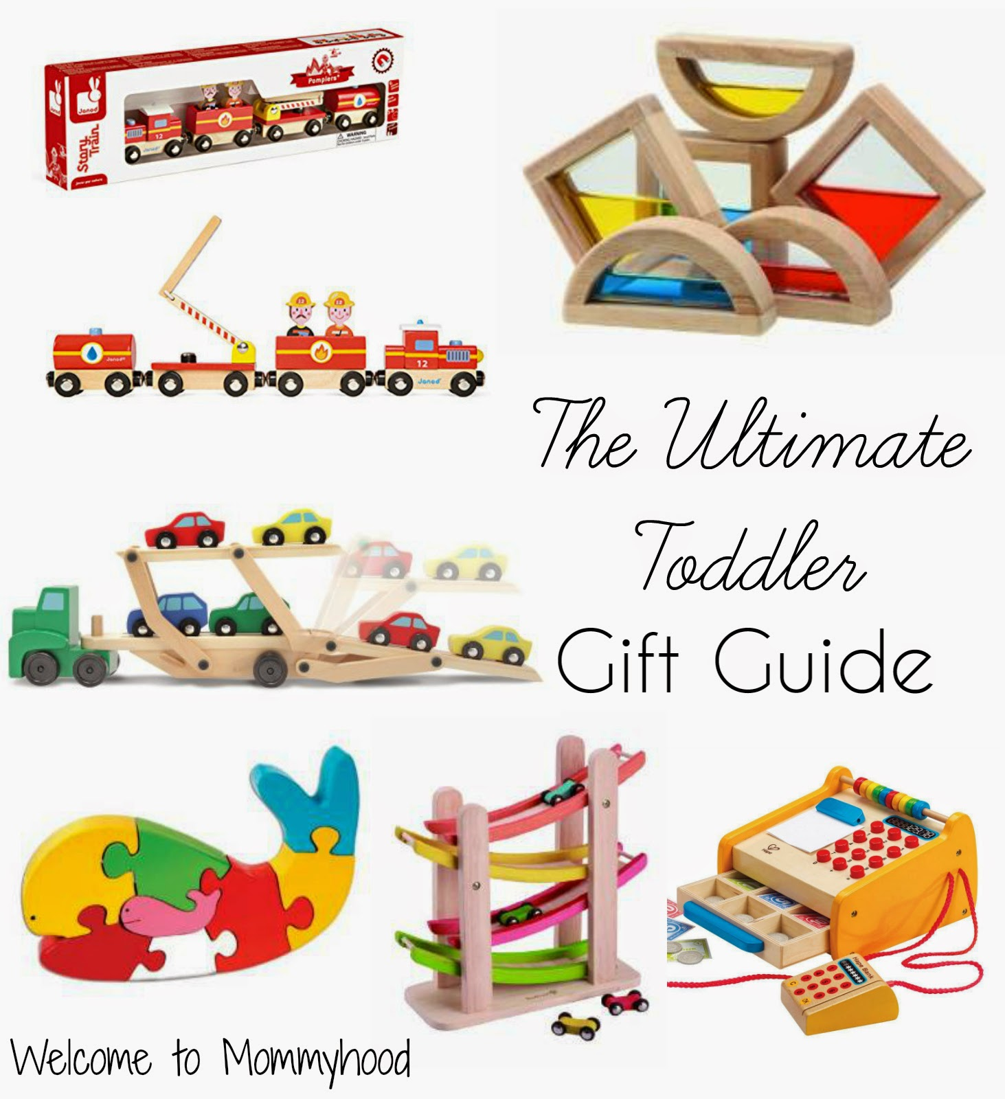 Holiday gift ideas for toddlers {Welcome to Mommyhood} #holidaygiftideas, #christmas, #holidays, #toddlers