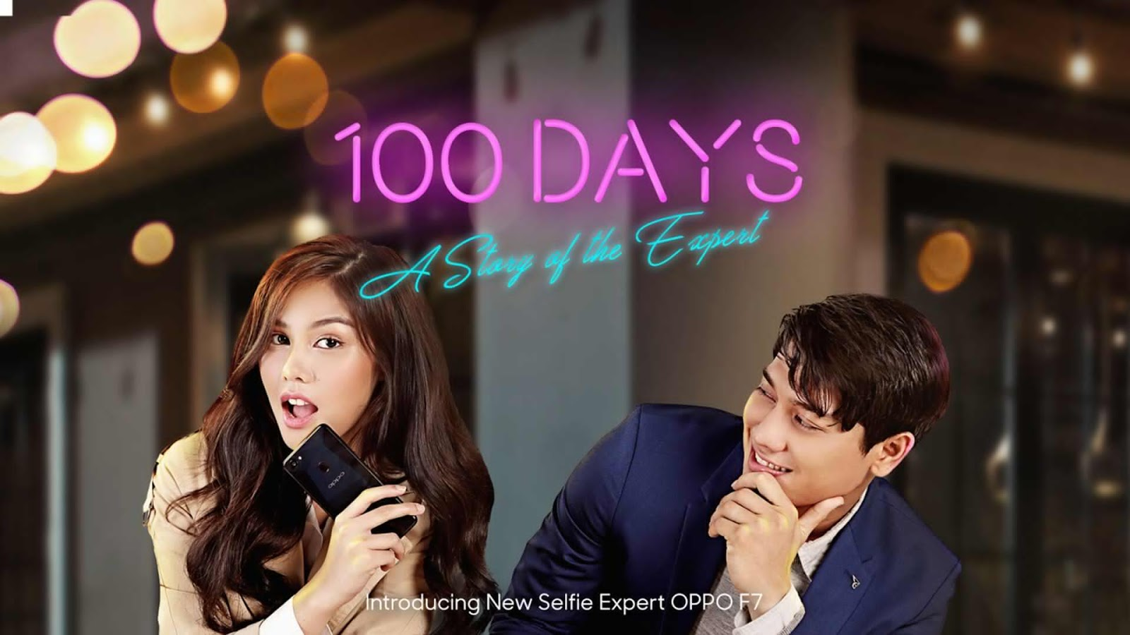 "Web Series OPPO F7 ""100 Days: A Story of the Expert"" Kisah Vanesha Kerja Kantoran"