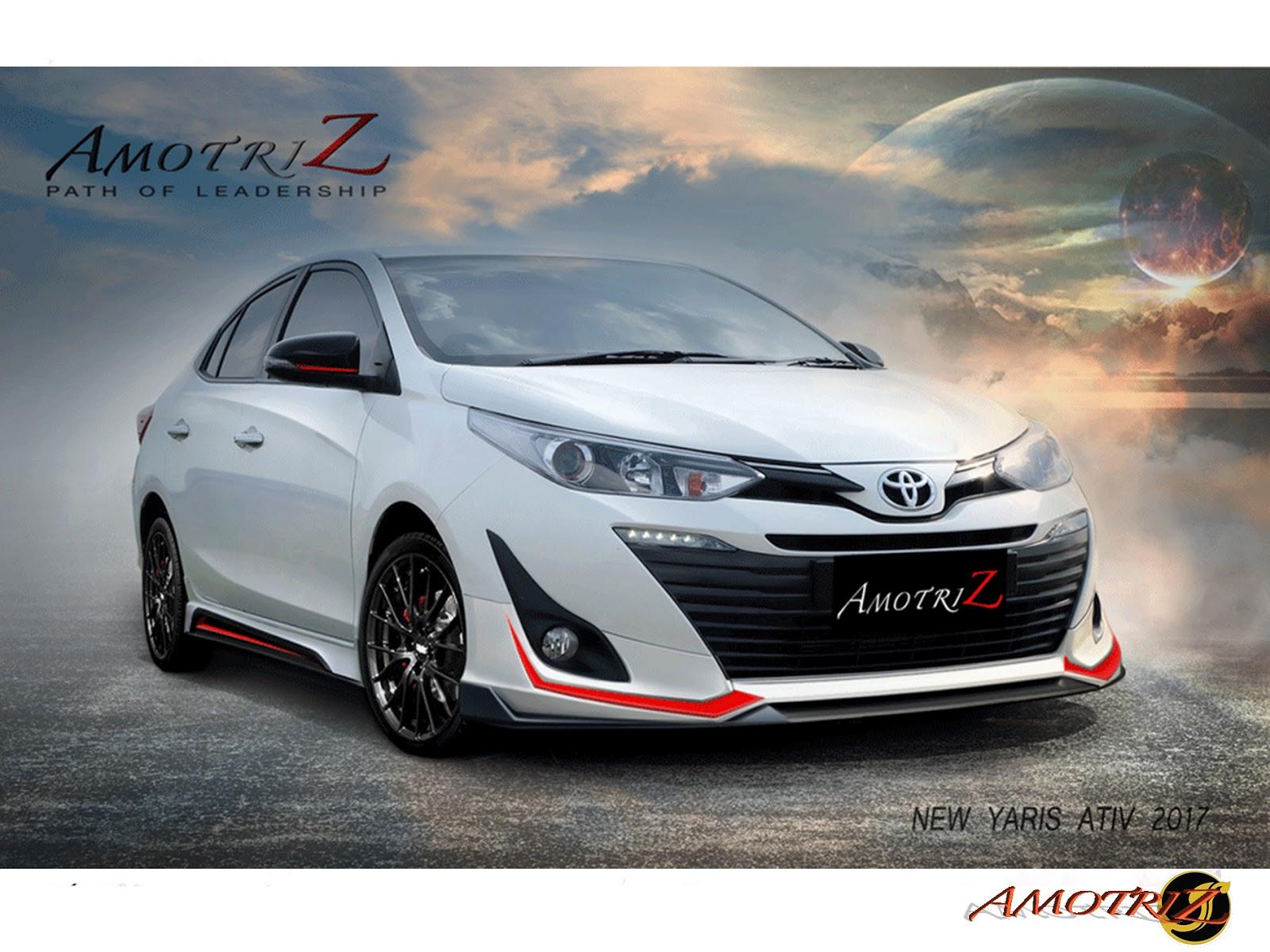 Toyota Yaris Ativ Trd All New Corolla Altis ชดแตง Amotriz Bodykits ชดแตงรอบคน