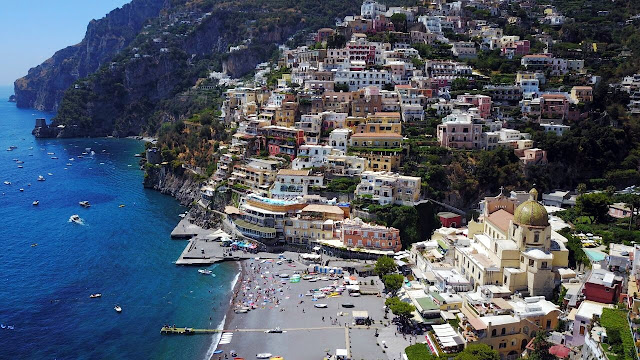 Costa Amalfitana, Itália, Positano