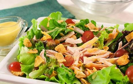 Salada Flash de Natal