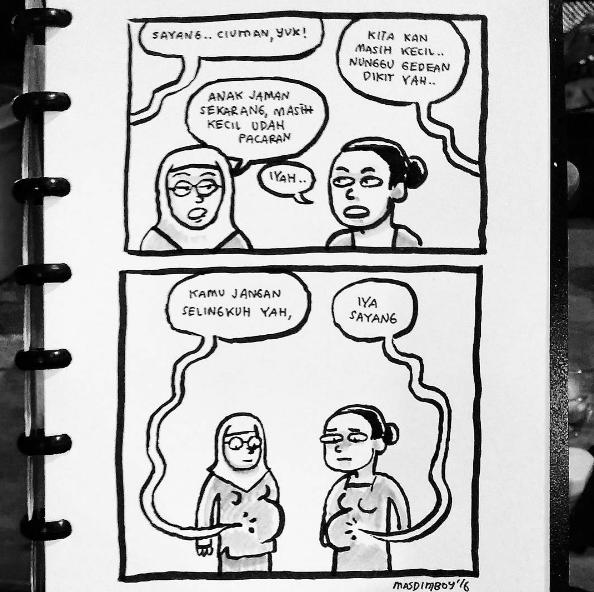 Komik Lucu Kekinian Ini Bikin Ngakak Sampai Mules